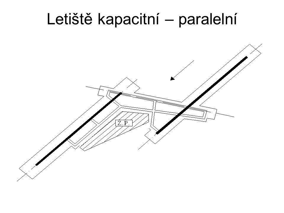 Letiště kapacitní – paralelní