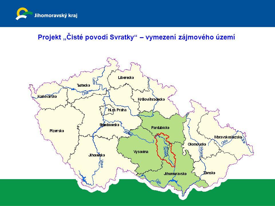 """Projekt """"Čisté povodí Svratky – vymezení zájmového území"""