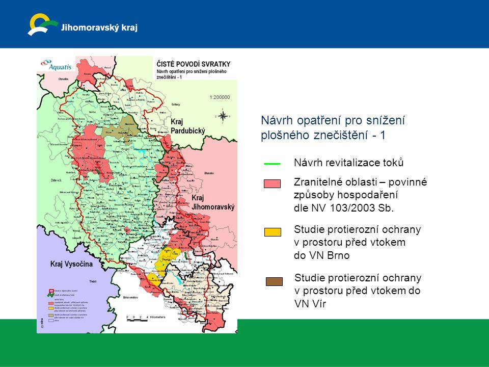 Návrh opatření pro snížení plošného znečištění - 1