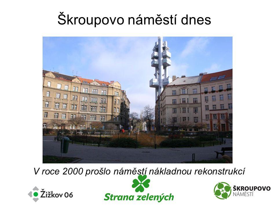 Škroupovo náměstí dnes