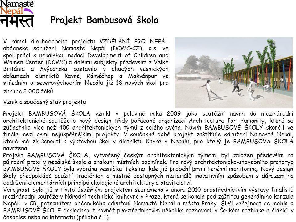 Projekt Bambusová škola