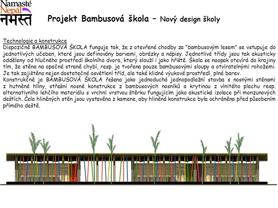 Projekt Bambusová škola – Nový design školy