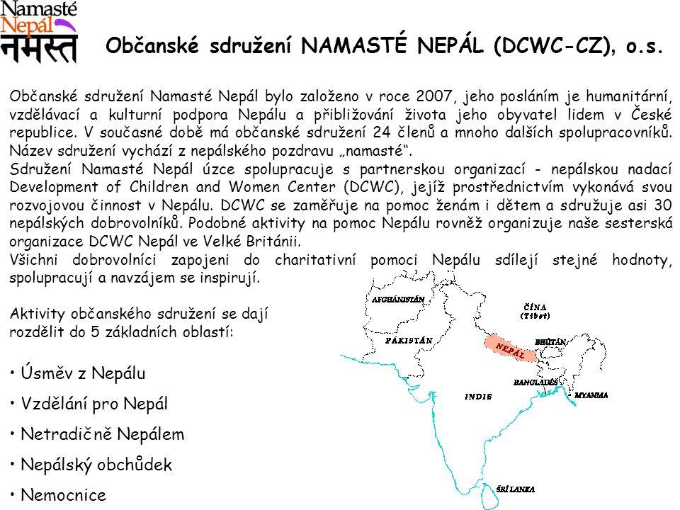 Občanské sdružení NAMASTÉ NEPÁL (DCWC-CZ), o.s.