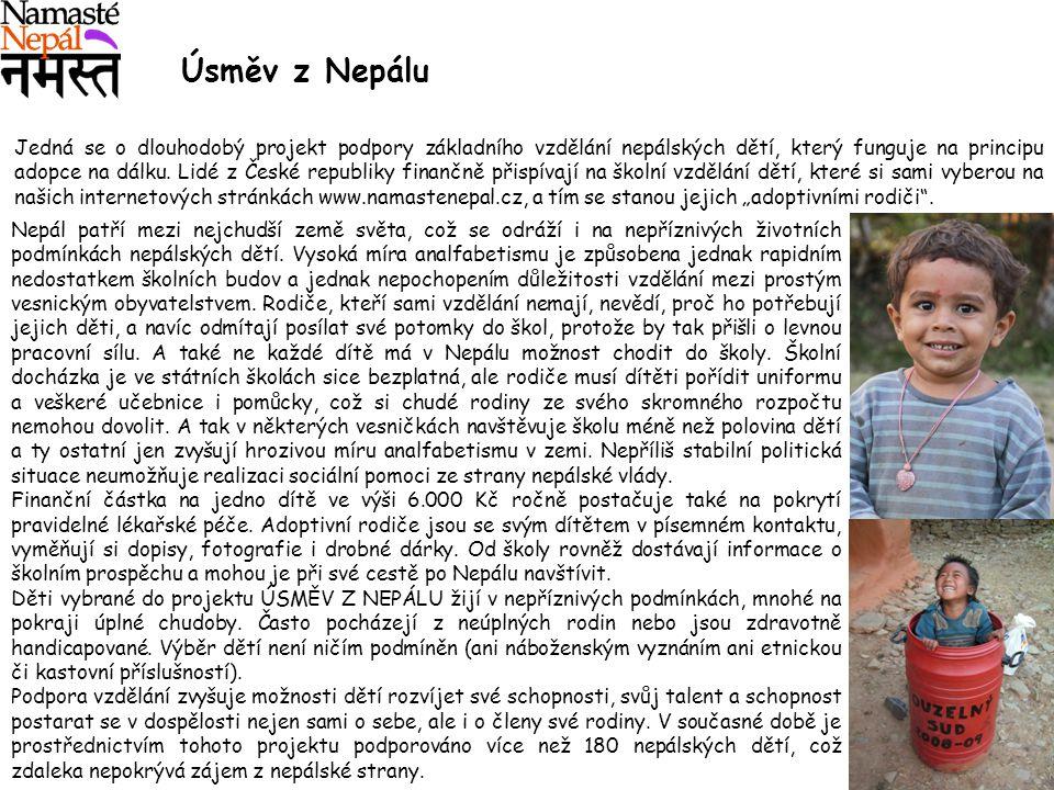 Úsměv z Nepálu