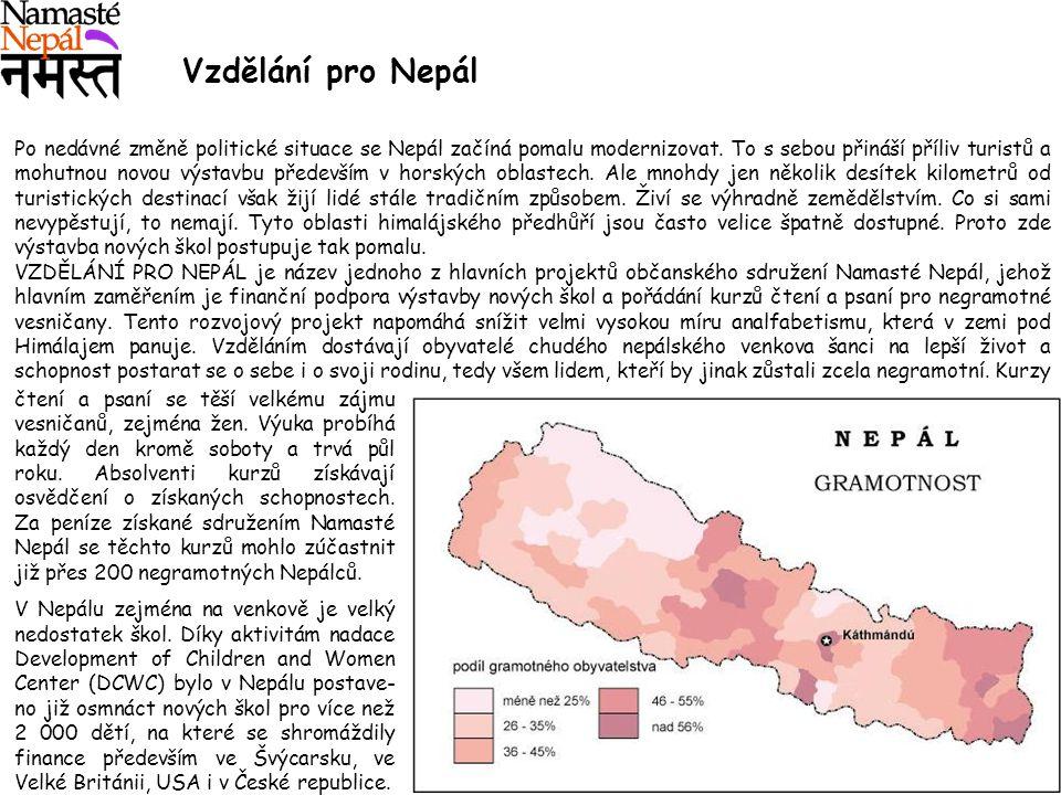 Vzdělání pro Nepál
