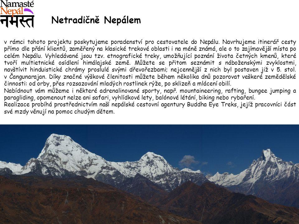 Netradičně Nepálem