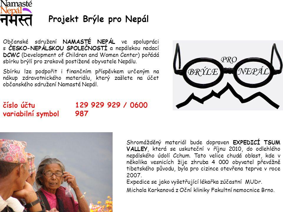 Projekt Brýle pro Nepál