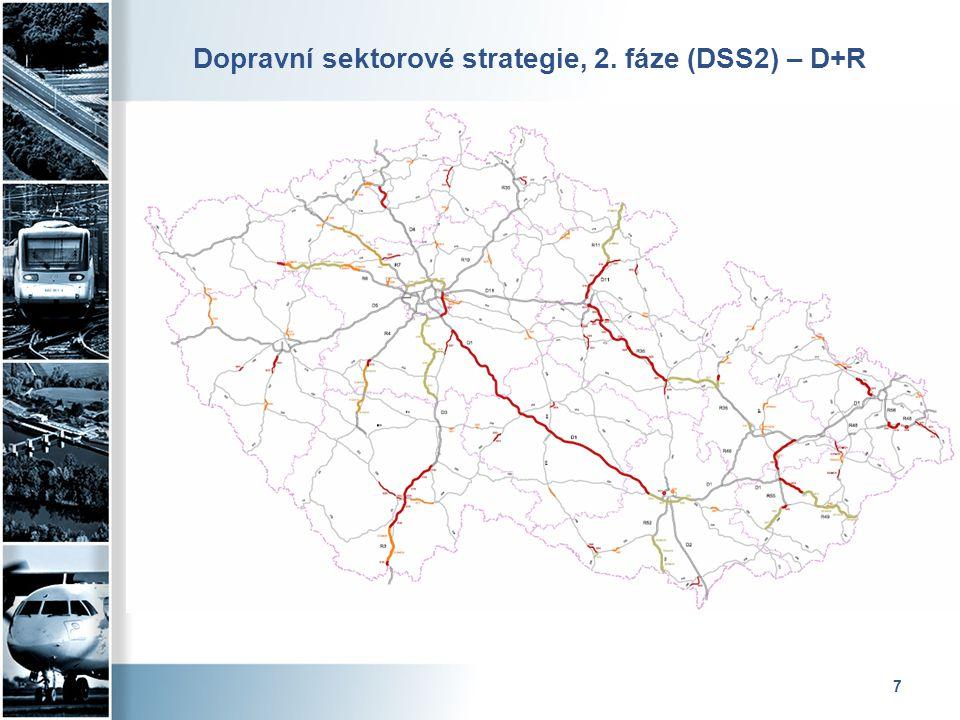 Dopravní sektorové strategie, 2. fáze (DSS2) – D+R
