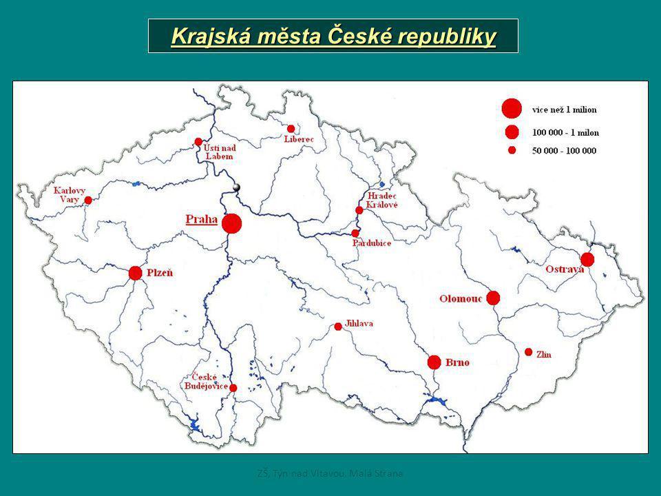 Krajská města České republiky