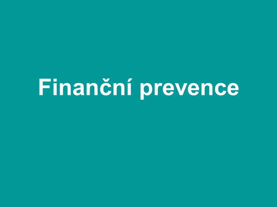 Finanční prevence