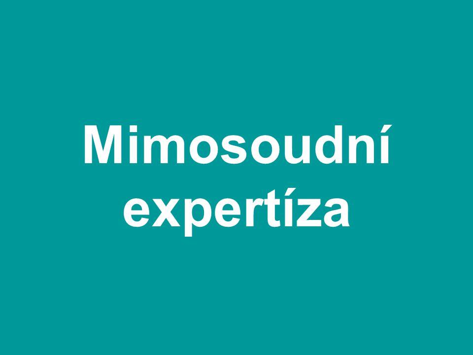 Mimosoudní expertíza