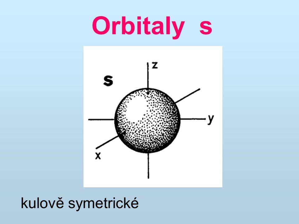 Orbitaly s kulově symetrické