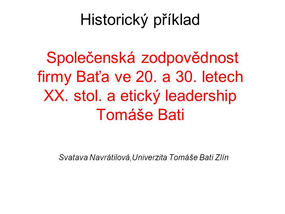 Svatava Navrátilová,Univerzita Tomáše Bati Zlín