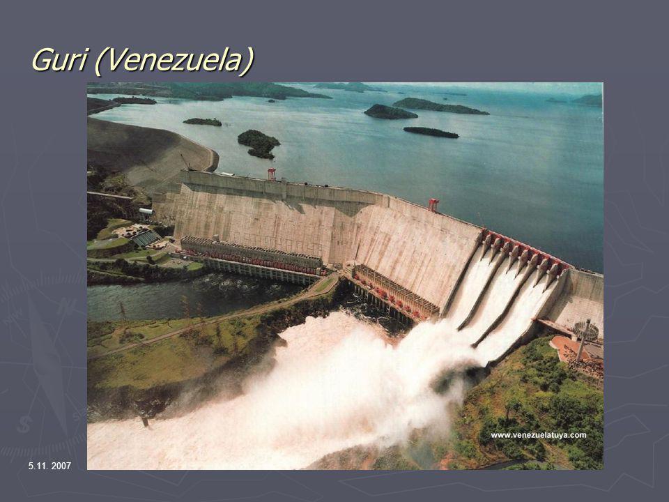Guri (Venezuela) 5.11. 2007