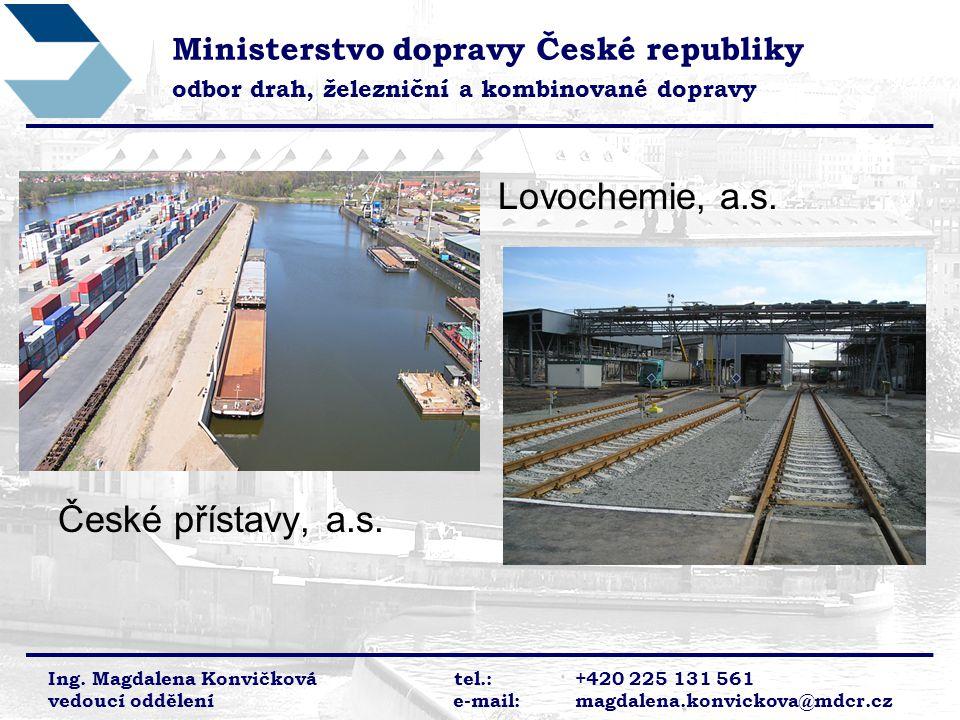 Lovochemie, a.s. České přístavy, a.s.