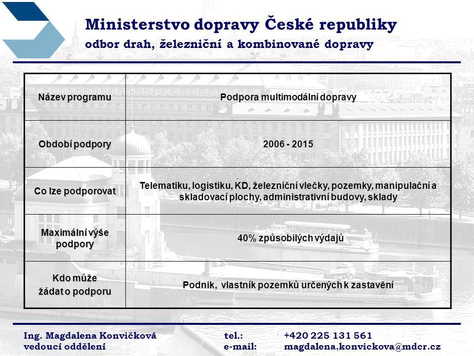 Ministerstvo dopravy České republiky
