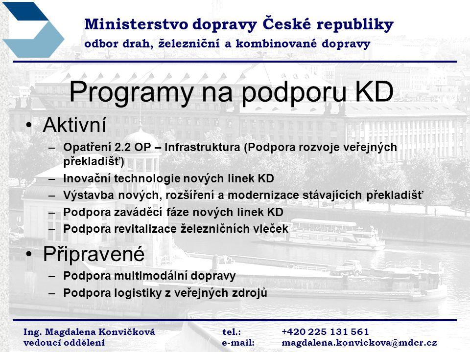 Programy na podporu KD Aktivní Připravené