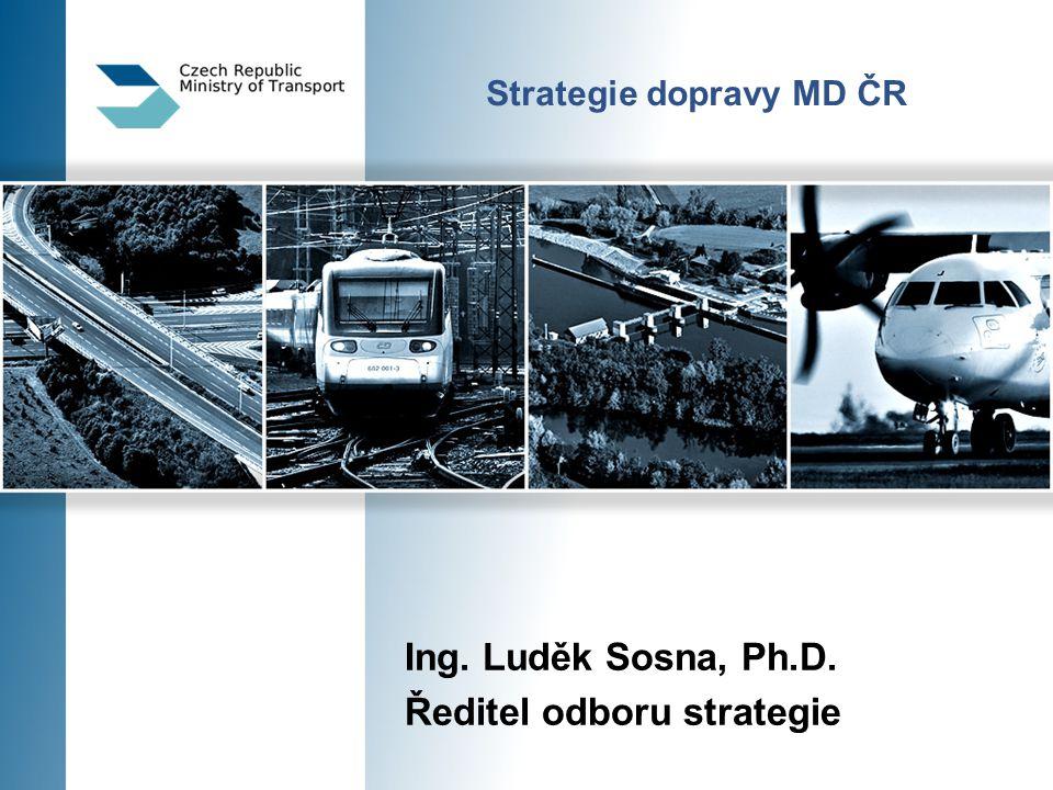 Strategie dopravy MD ČR