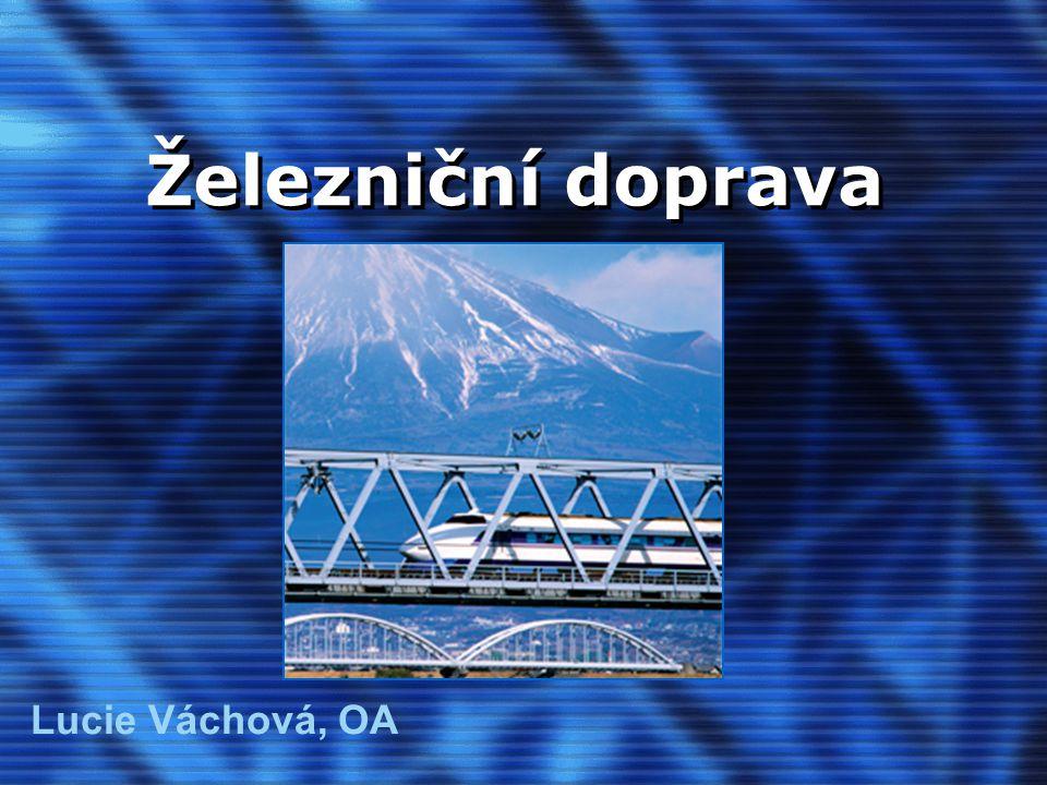 Železniční doprava Lucie Váchová, OA