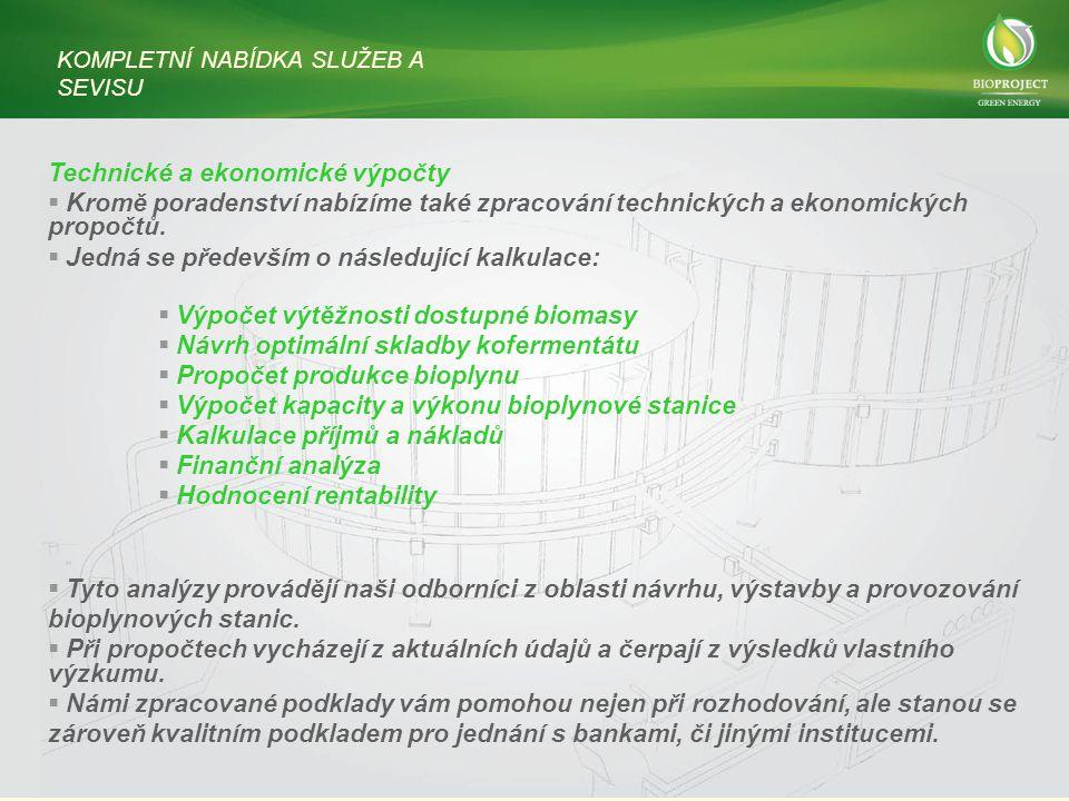 Technické a ekonomické výpočty