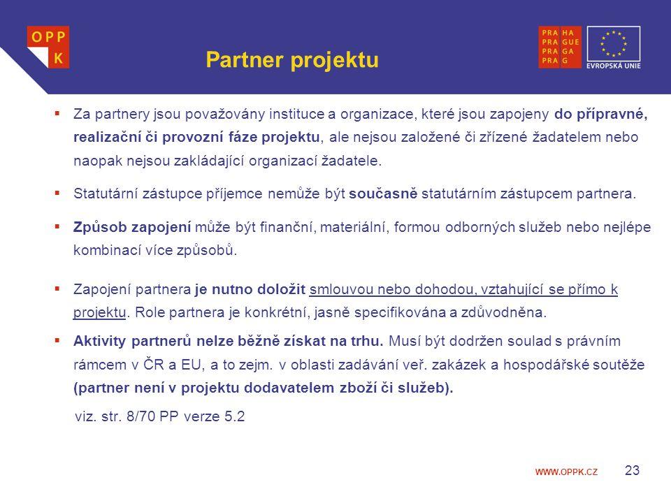 Partner projektu