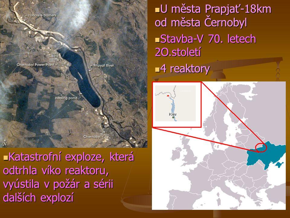 U města Prapjať-18km od města Černobyl