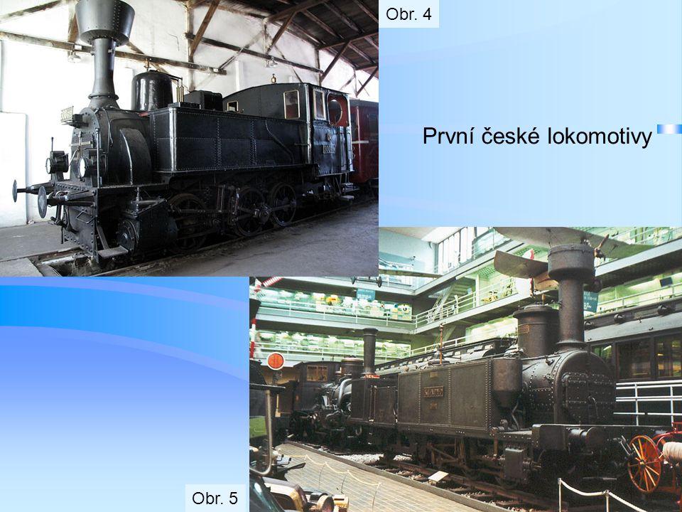 První české lokomotivy