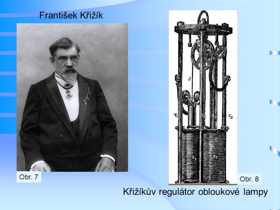 Křižíkův regulátor obloukové lampy