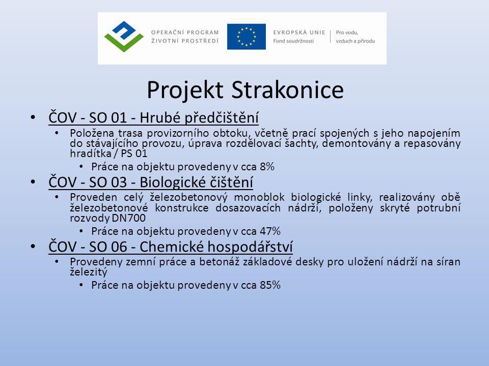 Projekt Strakonice ČOV - SO 01 - Hrubé předčištění