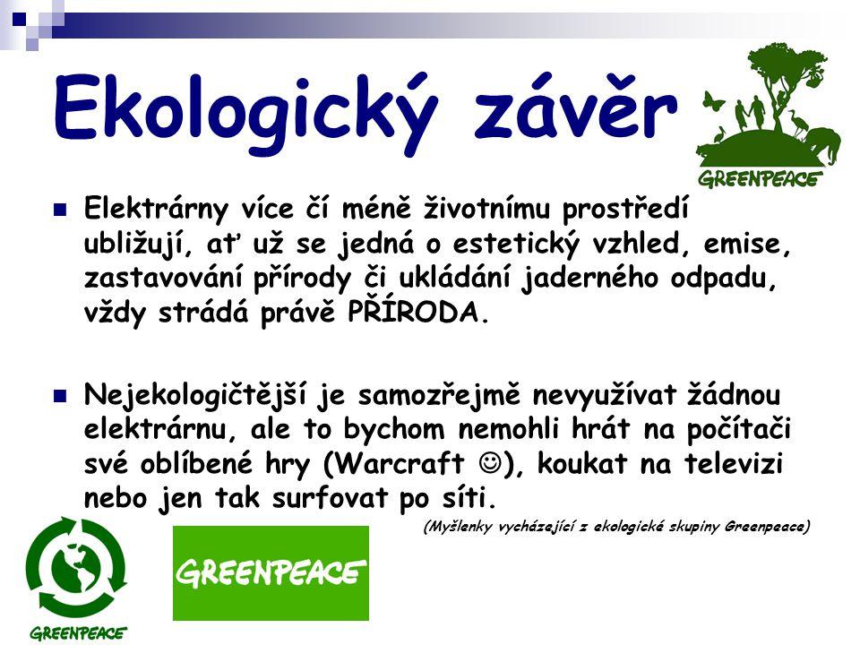 Ekologický závěr