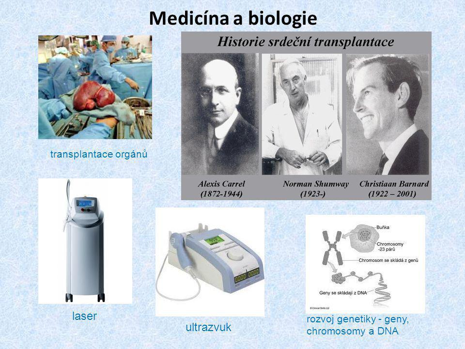 Medicína a biologie laser ultrazvuk transplantace orgánů