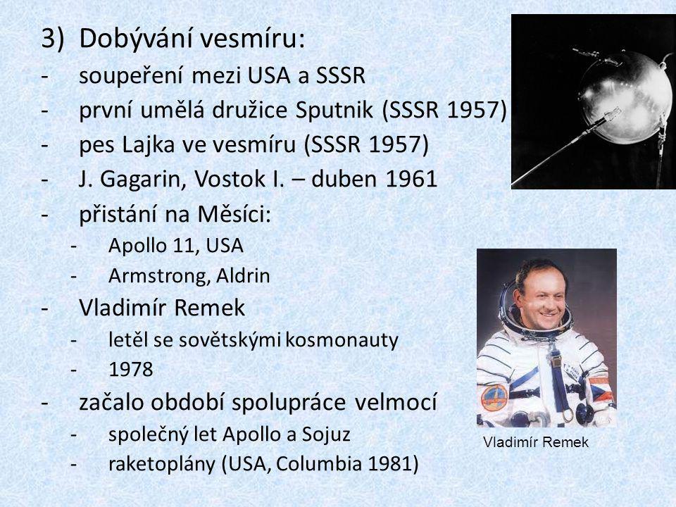 Dobývání vesmíru: soupeření mezi USA a SSSR