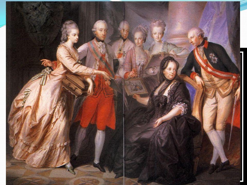 V roce 1743 byla v pražském chrámu sv. Víta korunována českou královnou.