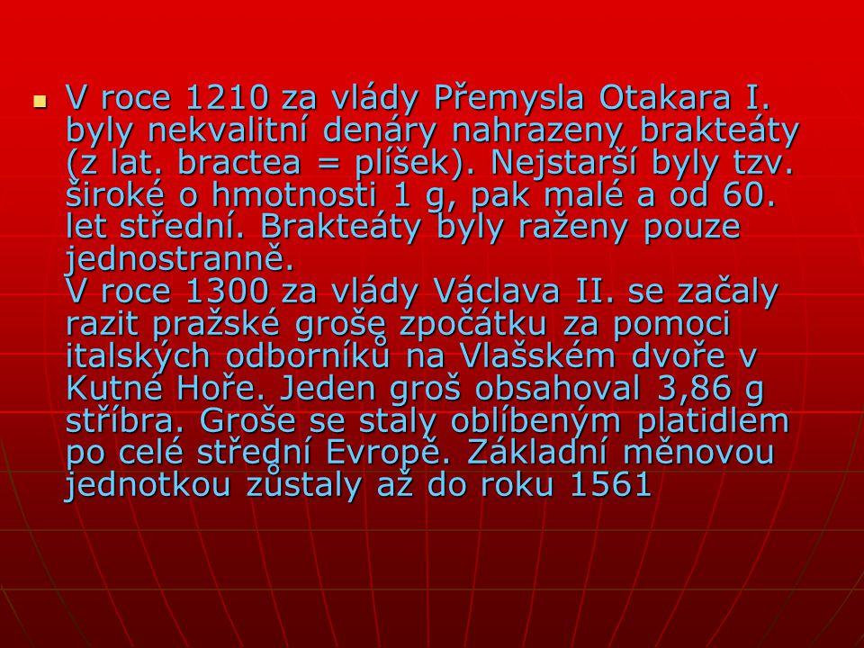 V roce 1210 za vlády Přemysla Otakara I