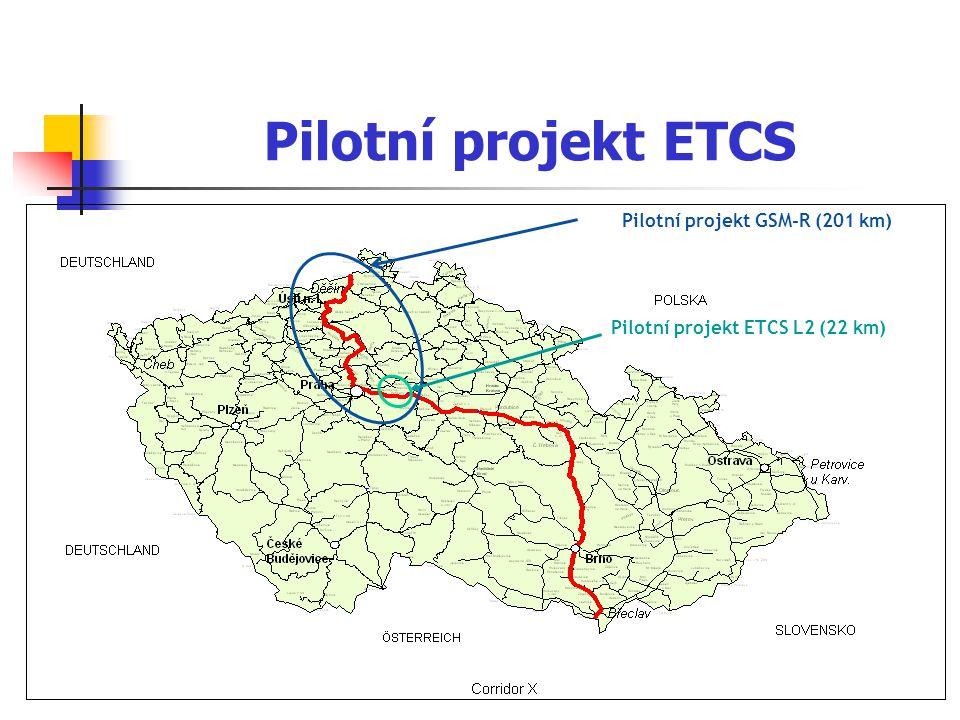 Pilotní projekt GSM-R (201 km)