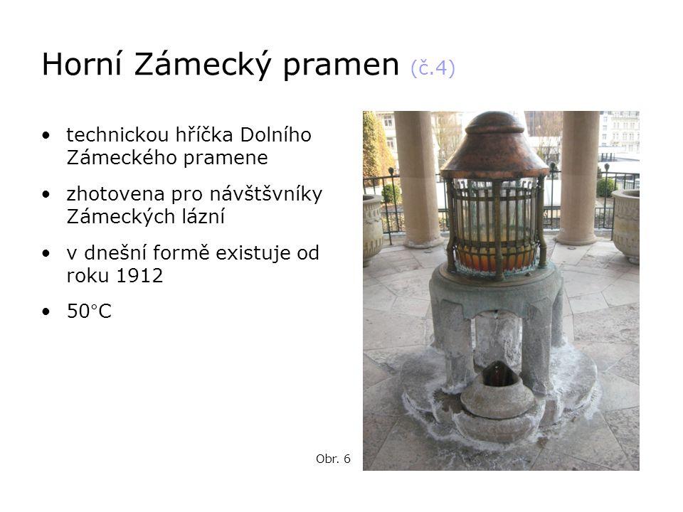 Horní Zámecký pramen (č.4)