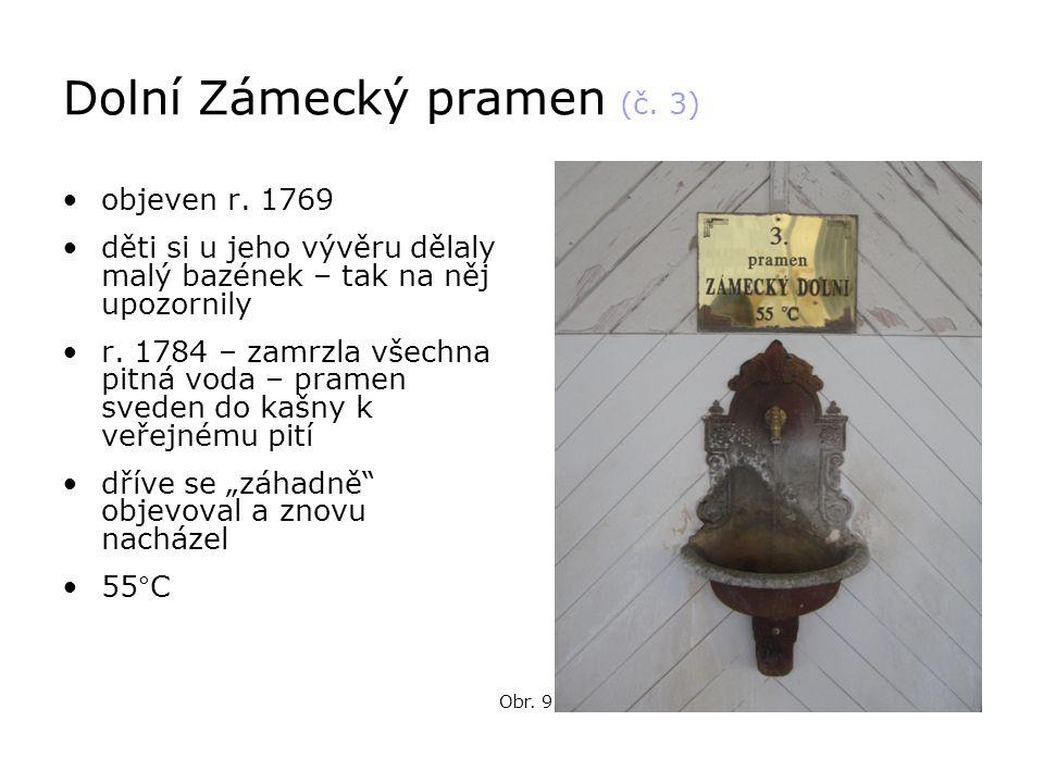Dolní Zámecký pramen (č. 3)