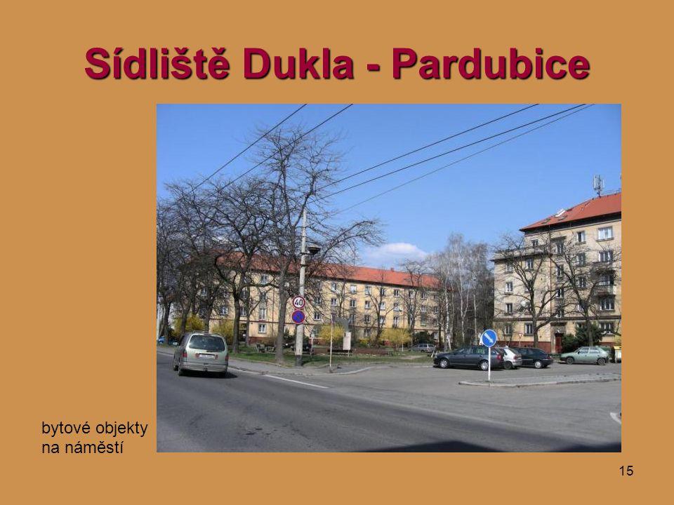 Sídliště Dukla - Pardubice