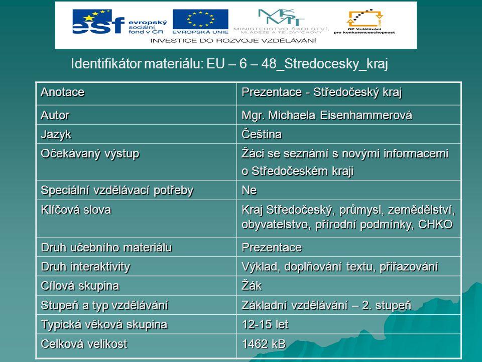 Identifikátor materiálu: EU – 6 – 48_Stredocesky_kraj