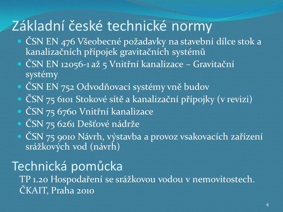 Základní české technické normy