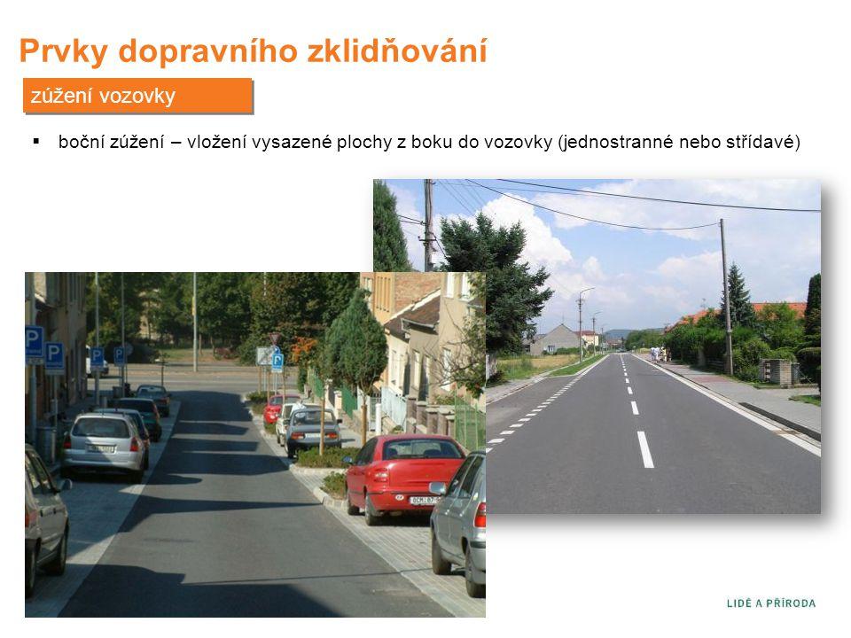 Prvky dopravního zklidňování