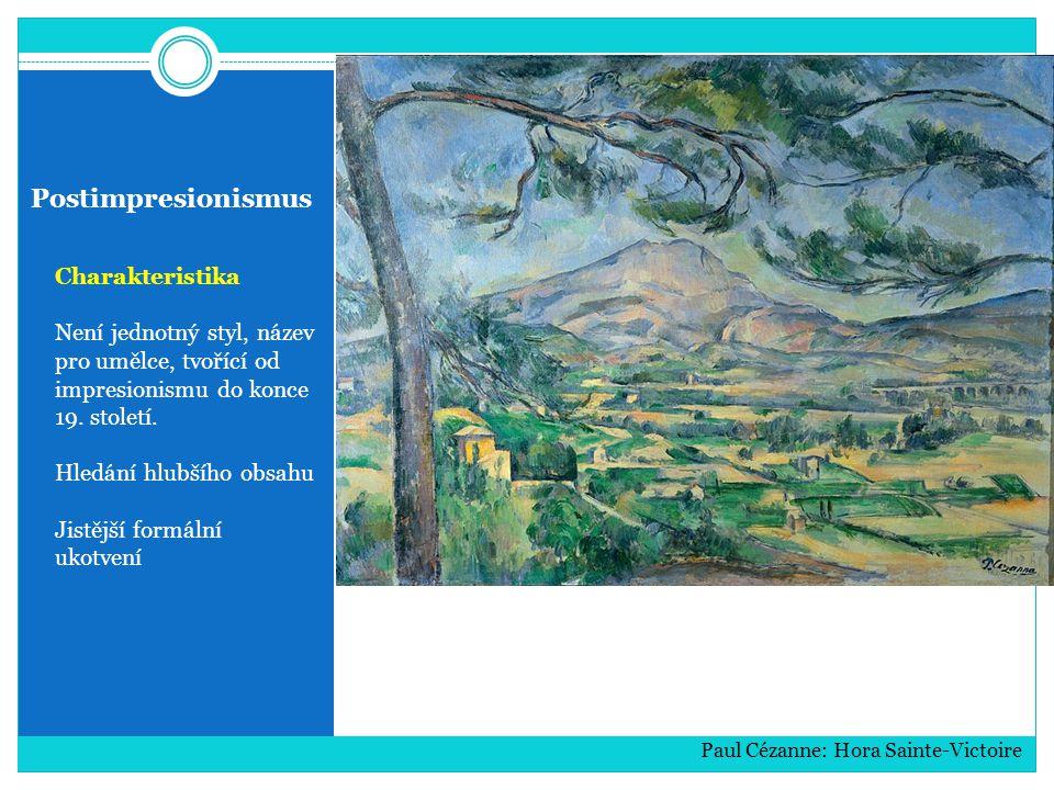 Postimpresionismus Charakteristika