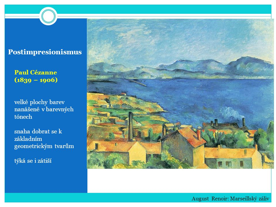 Postimpresionismus Paul Cézanne (1839 – 1906)
