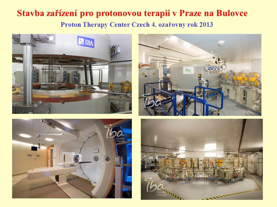 Stavba zařízení pro protonovou terapii v Praze na Bulovce