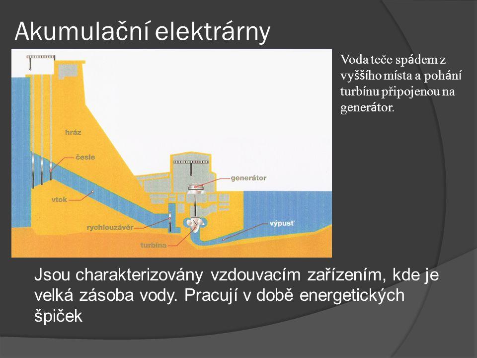 Akumulační elektrárny