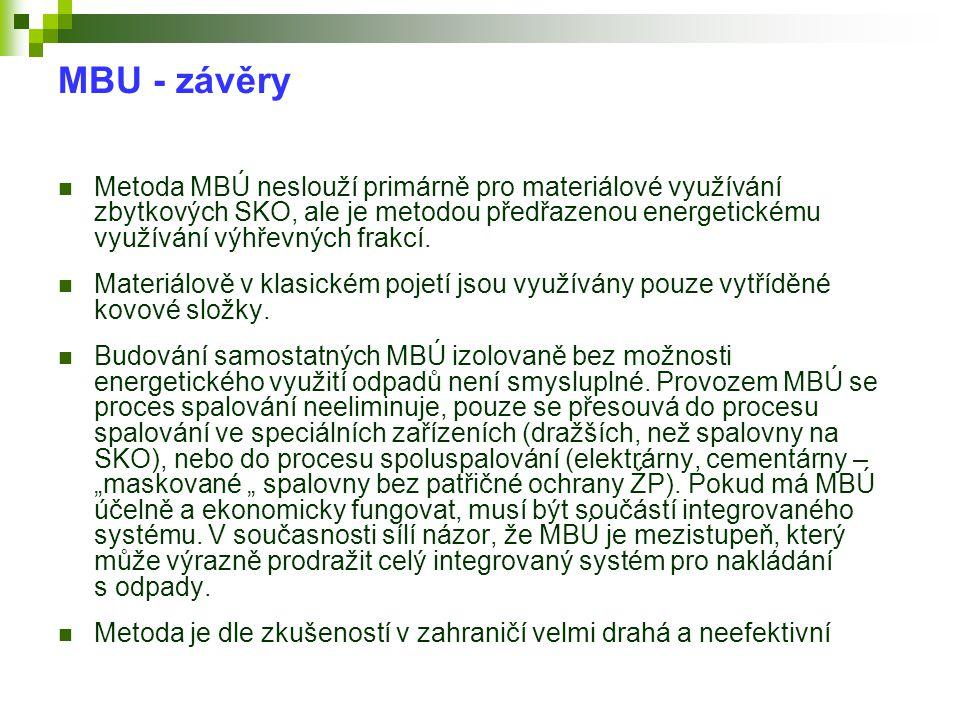 MBU - závěry