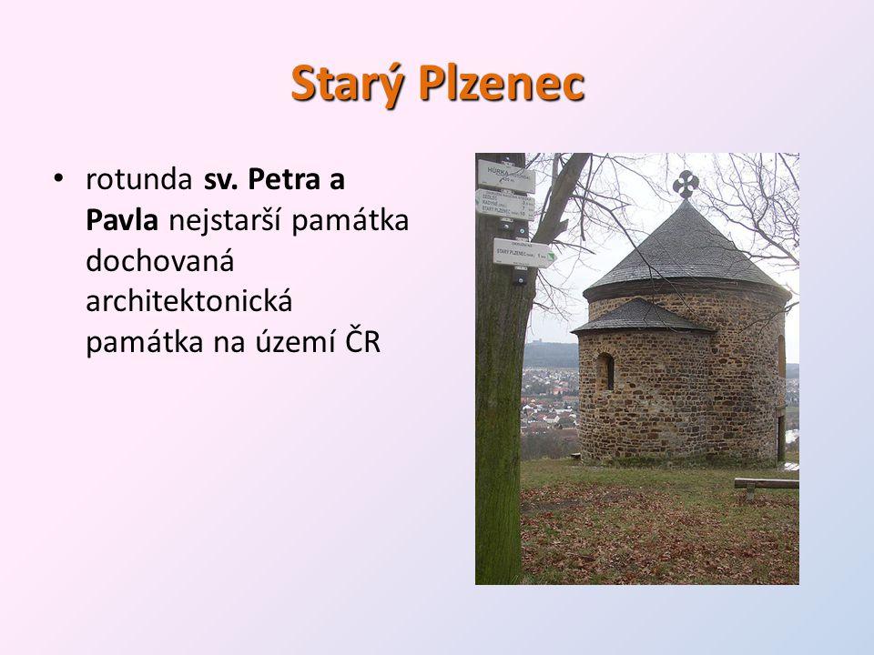 Starý Plzenec rotunda sv.