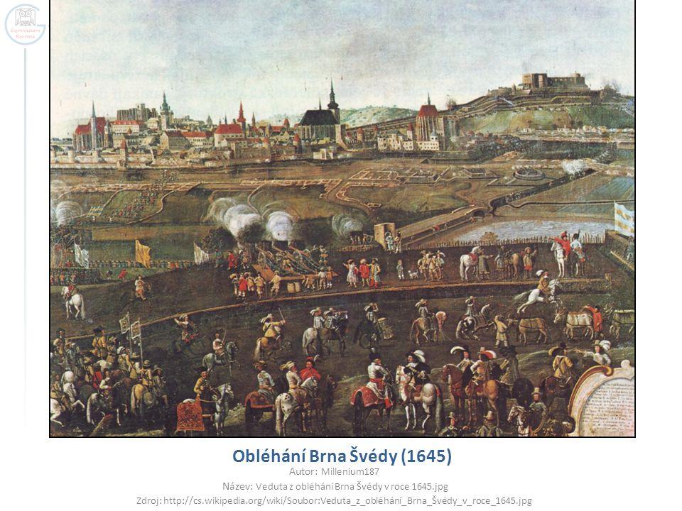 Název: Veduta z obléhání Brna Švédy v roce 1645.jpg