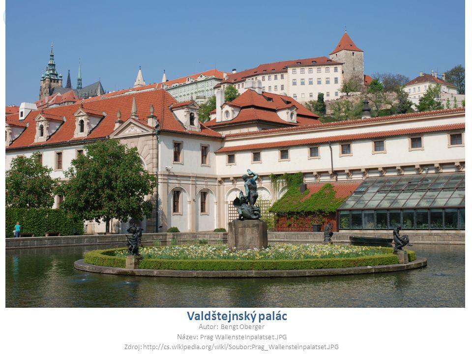 Název: Prag Wallensteinpalatset.JPG
