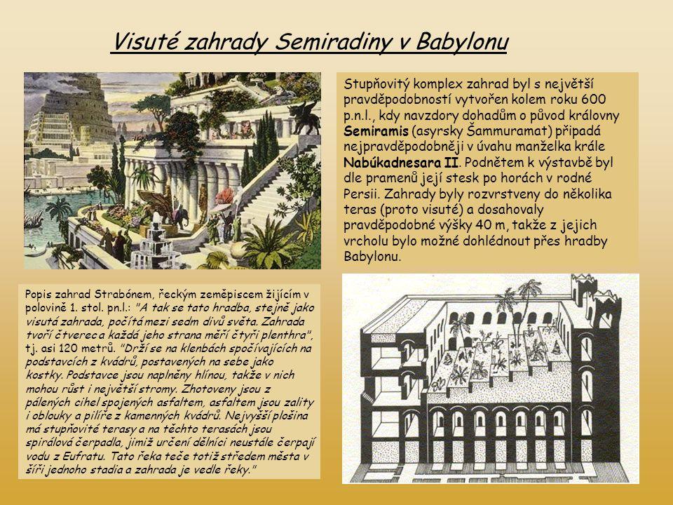 Visuté zahrady Semiradiny v Babylonu
